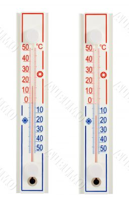 hot cold thermometers