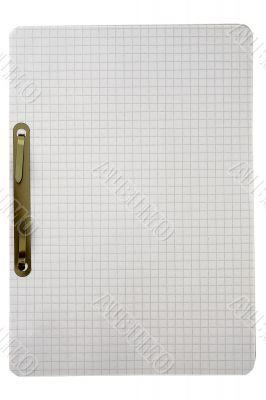 Clean sheet notepad