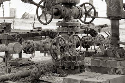 Oil well.