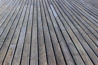 gray plank wooden floor