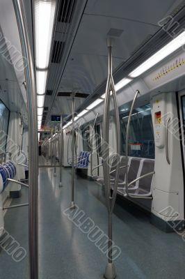 passengers metro train
