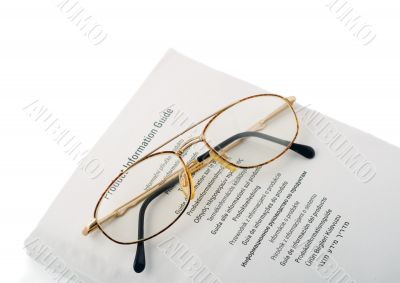 spectacles in book