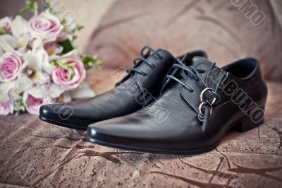 Boots on wedding.