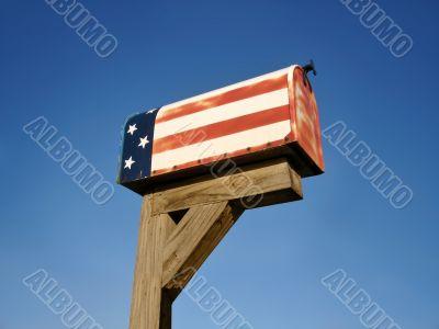 Patriotic Mailbox
