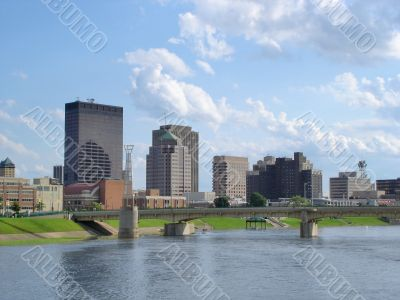 Dayton Ohio Skyline During Day