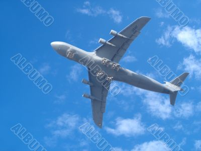 Air Force Transport Plane Overhead