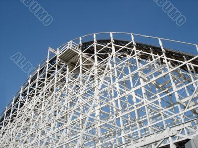 Top of a Wooden Rollercoaster
