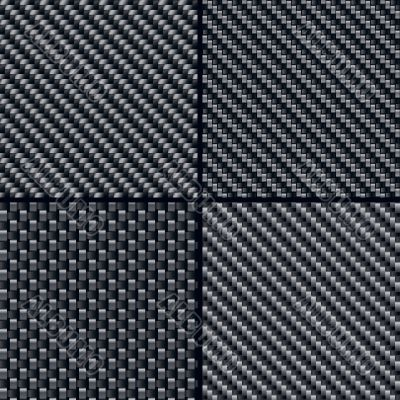 Carbon fiber seamless patterns set