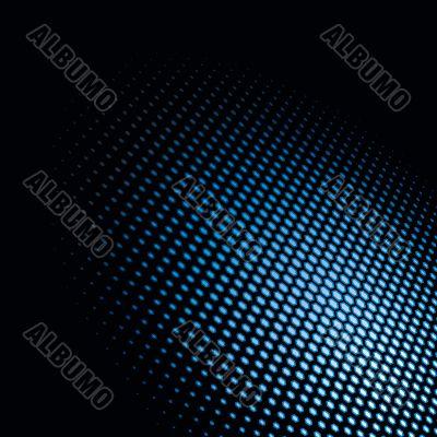 Light spot. Hexagonal dots