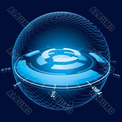 Fantasy Space Navigation Sphere