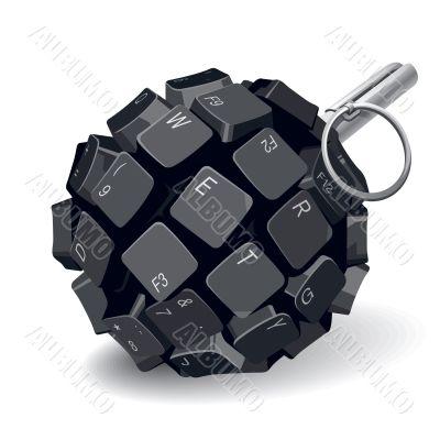 Keyboard grenade