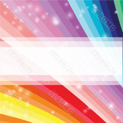 Abstract futuristic colored rainbow background