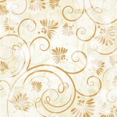 Floral seamless beautiful pattern