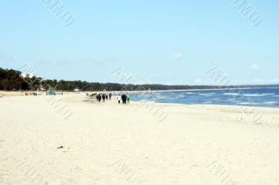 Baltic beach Binz