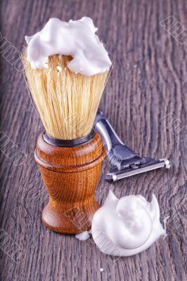 Foam and brush