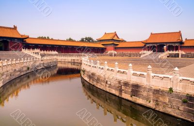 Canal in Forbidden City
