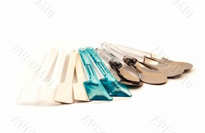 Set of spatula kitchen ware tool