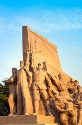 Mao`s Mausoleum monument