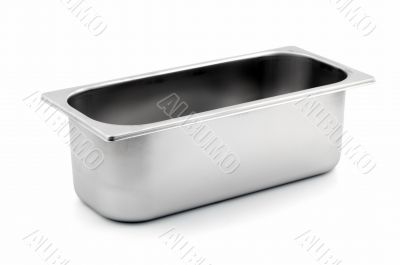 Rectangular Ice-cream shop metal container