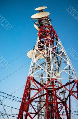 Antenna steel structure
