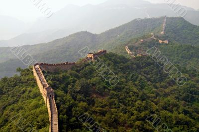 The Great Wall view