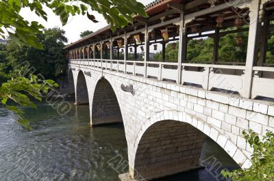 Chinese Arch stone bridge