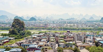 Guilin city view