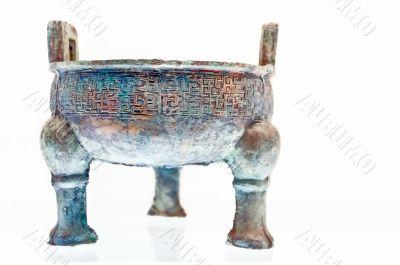 Ancient bronze ding
