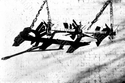 Hung up plough