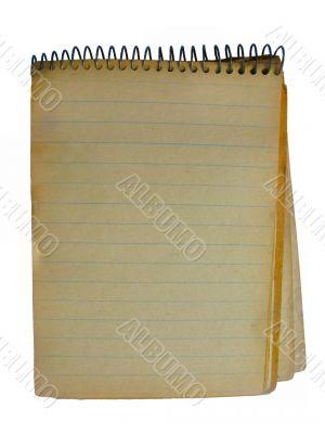 Grunge copybook