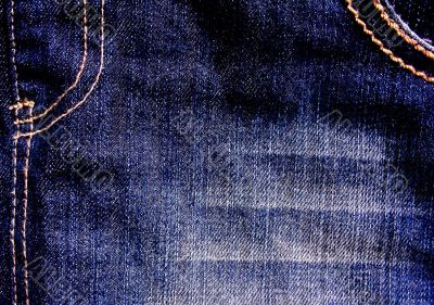 Classical jeans texture