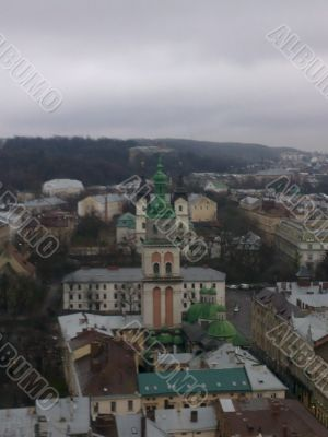Lviv From High
