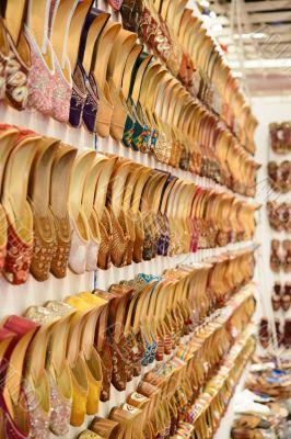 A shoes market