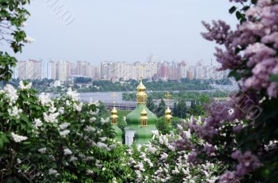 Vydubitskiy monastery it is a monastery complex situated on the