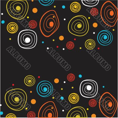 Neon lights  graphic design abstract background.