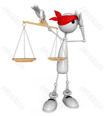 3d white person judge.
