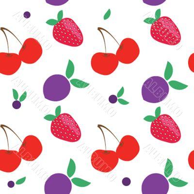 SEAMLLES fruit PATTERN