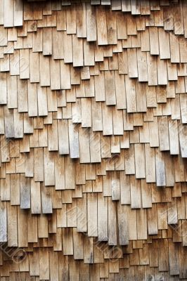 Wooden shingles texture