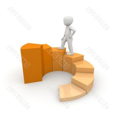 climb stairs