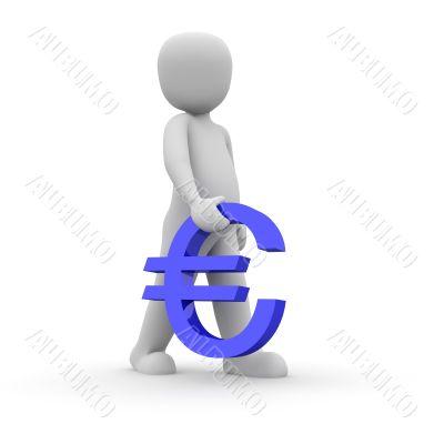 blue euro carry