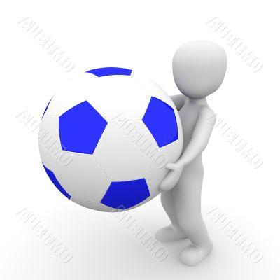 holding ball 4