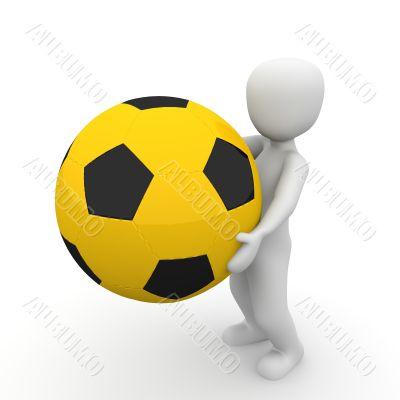 holding ball 3