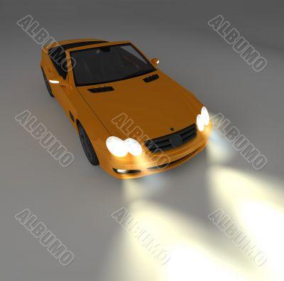 orange car 4