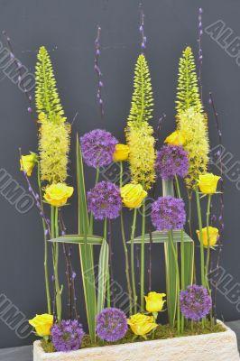 exhibition floral bouquet