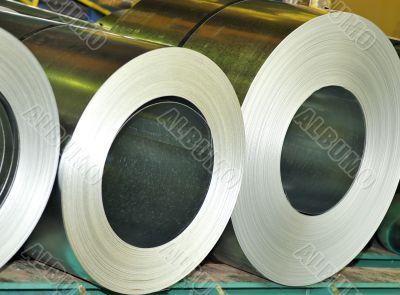 rolls of sheet
