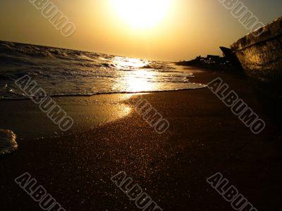 Romantic seaside