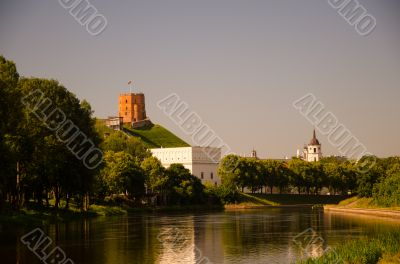 Vilnius the green capital of Lithuania