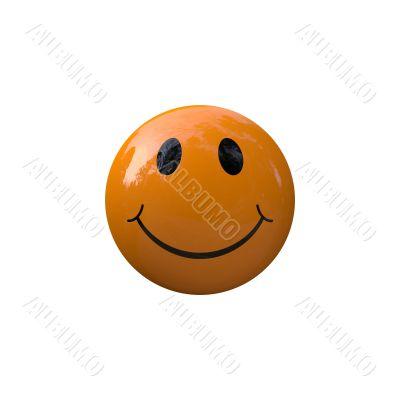Smiley smile orange