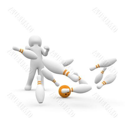 bowling hit