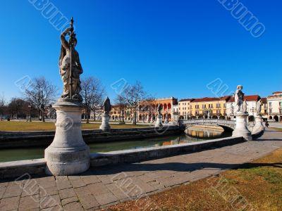 Big square in Padua